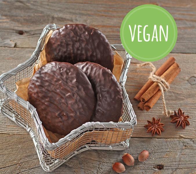 Der Beck Veganer Elisenlebkuchen Schokolade