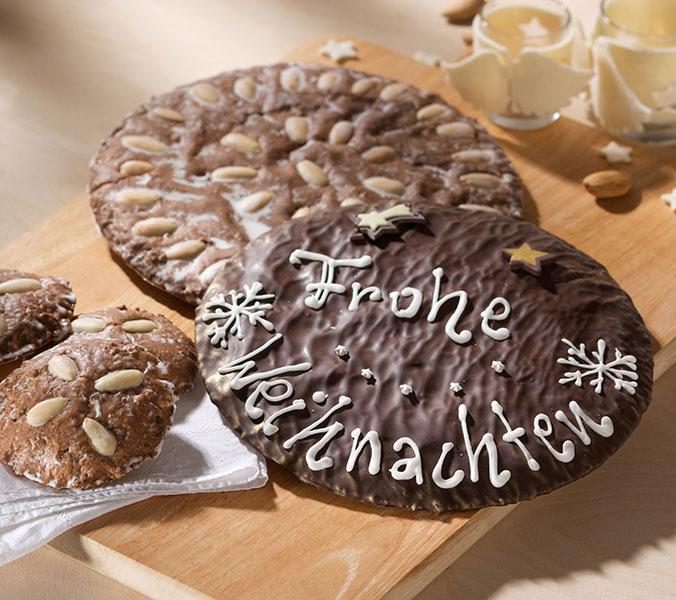 Der Beck Original Nürnberger Riesen Elisenlebkuchen beschriftbar