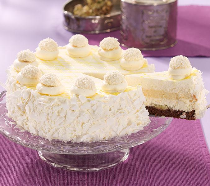 Der Beck Pina Colada-Torte