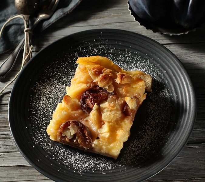 Bäckerei Der Beck Pflaumen-Puddingschnitte