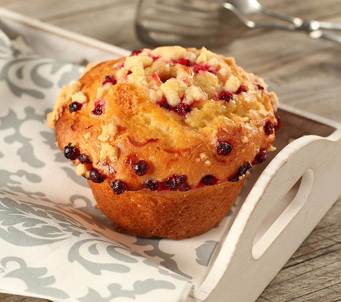 Der Beck Johannisbeer-Muffin