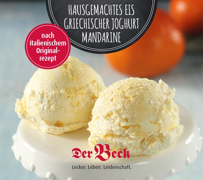 Bäckerei Der Beck Eisbecher Griechischer Joghurt Mandarine