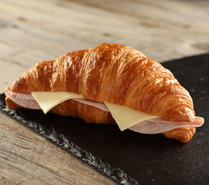 Schinken-Käsecroissant