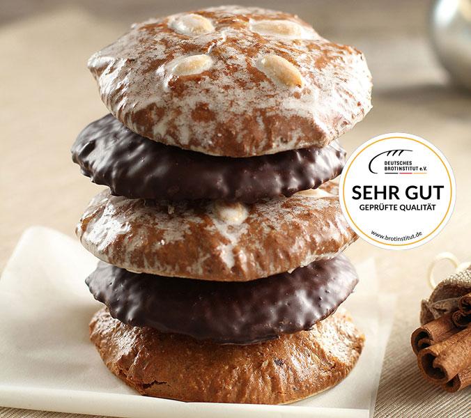 Bäckerei Der Beck 5 Original Nürnberger Elisenlebkuchen gemischt