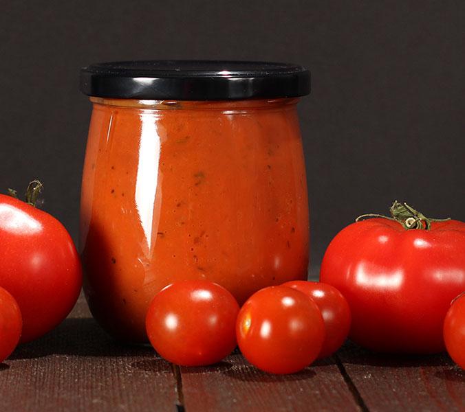 Der Beck Tomatencremesuppe im Glas