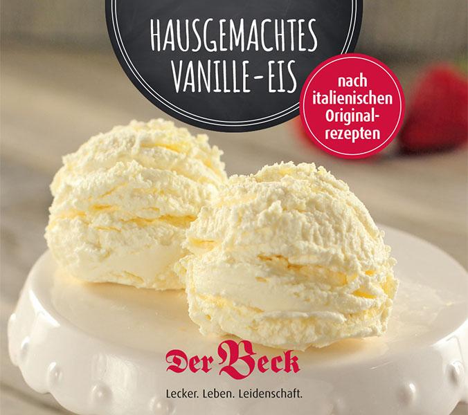 Eisbecher Vanille