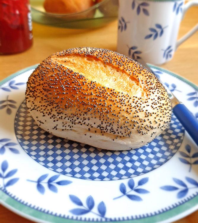 Bäckerei Der Beck Wochenendbrötchen Mohn