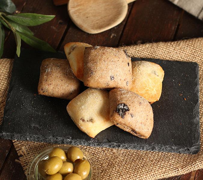 Bäckerei Der Beck Mediterranes Brotkonfekt Olive