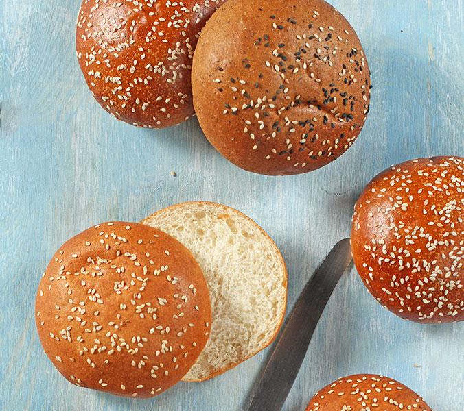 Bäckerei Der Beck Burger Buns 6 Stk.