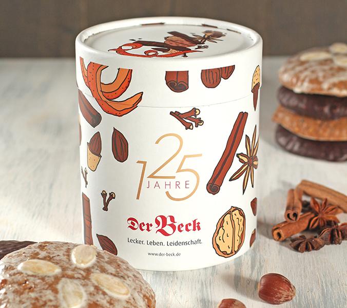 Bäckerei Der Beck Elisenlebkuchen in Editions-Künstlerdose