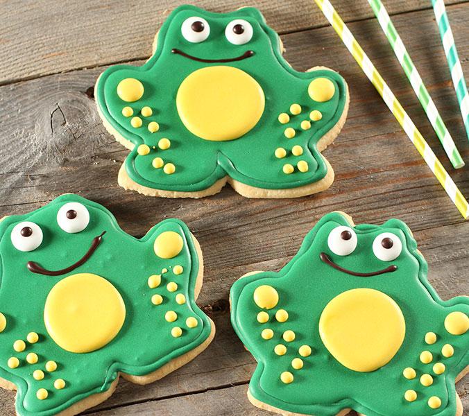 Der Beck Cookie Frosch