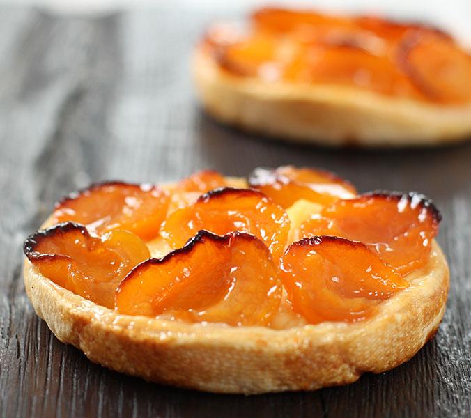 Aprikosen-Tartelett