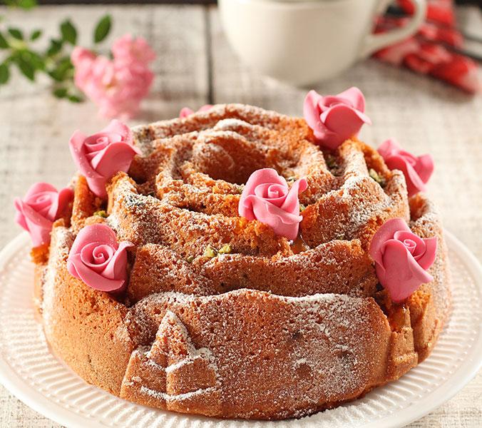 Der Beck Rosenkuchen