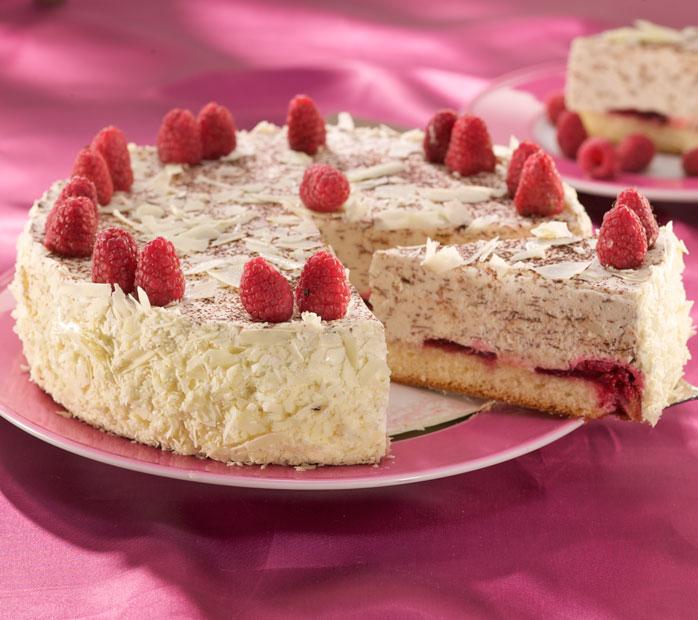 Der Beck Himbeer-Cappuccino-Torte