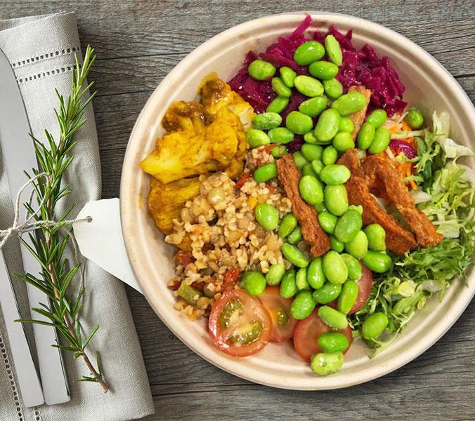 Bäckerei Der Beck Bowl vegan meatless
