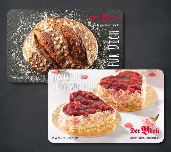 Bäckerei Der Beck Gutscheinkarte